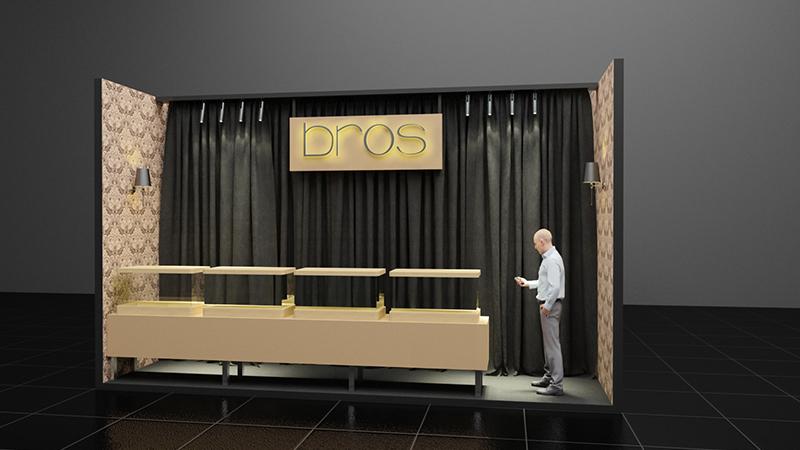 Bros Stand Tasarımı